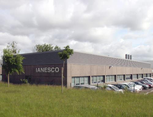 Construction de bureaux et laboratoires IANESCO  Poitiers (86)