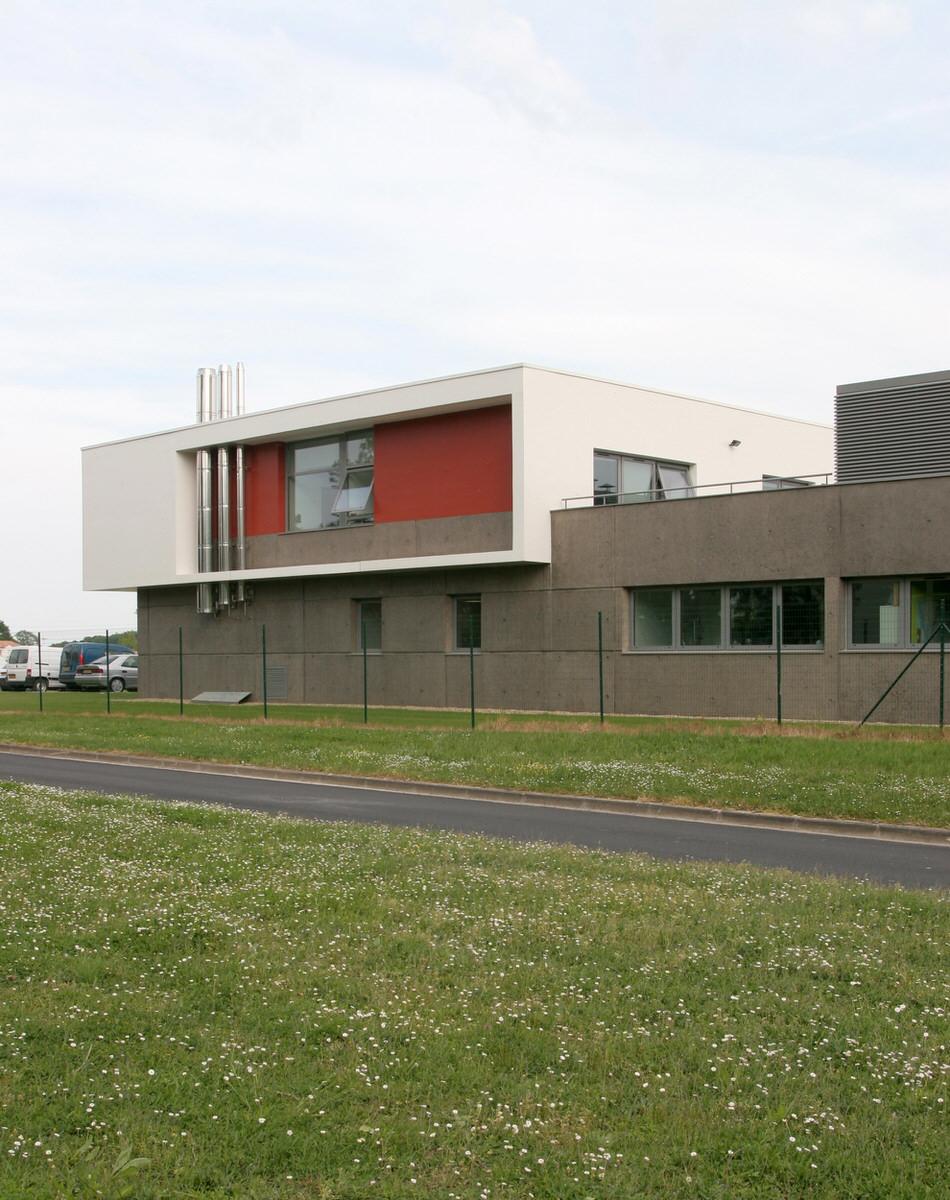 Créature Architectes - Construction de bureaux et laboratoires IANESCO - Poitiers - 86