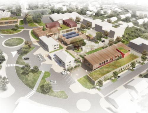 Réhabilitation et extension des aménagements publics du coeur de ville  Nueil-les-Aubiers (45)