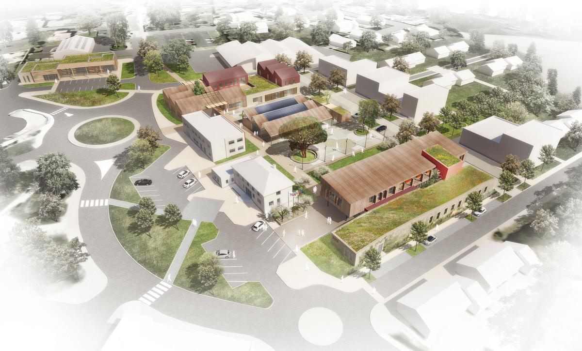 Créature Architectes - Réhabilitation et agrandissement des aménagements publics du coeur de ville - Nueil-les-Aubiers - 79