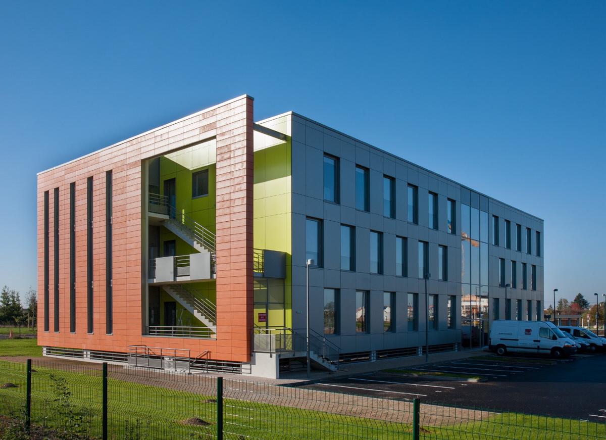 Créature Architectes - Construction d'un immeuble de bureaux ZAC du Larry - Ilot R1 - Olivet - 45