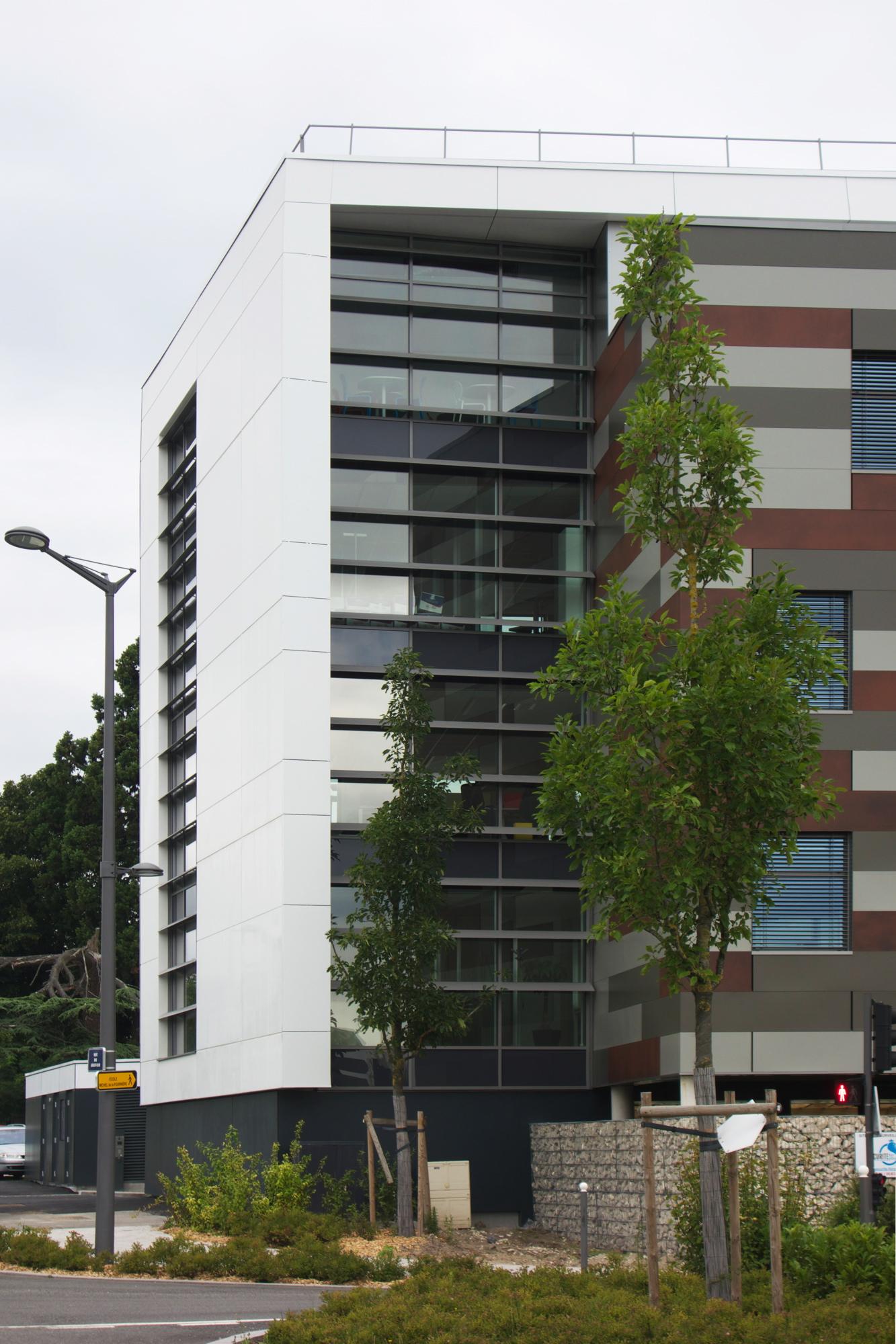 Créature Architectes - Construction d'un immeuble de bureaux ZAC du clos de la fontaine - Ilot H1 - Orléans - 45