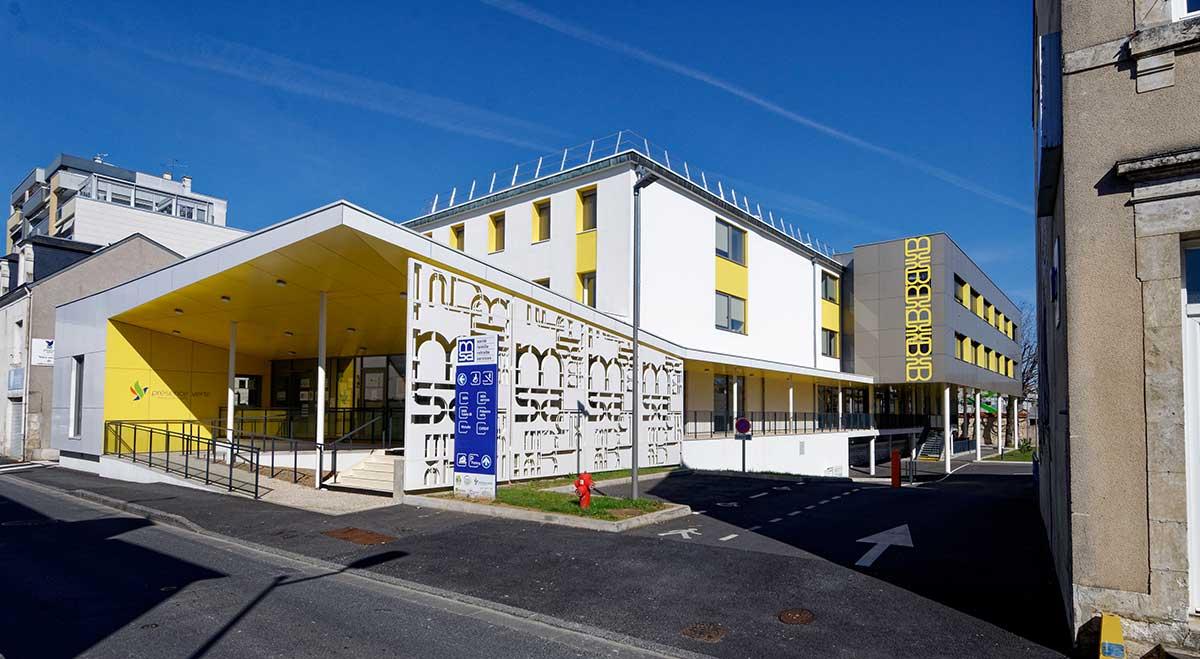 Créature Architectes - Restructuration - du site de la mutualité sociale agricole - Châteauroux - 36