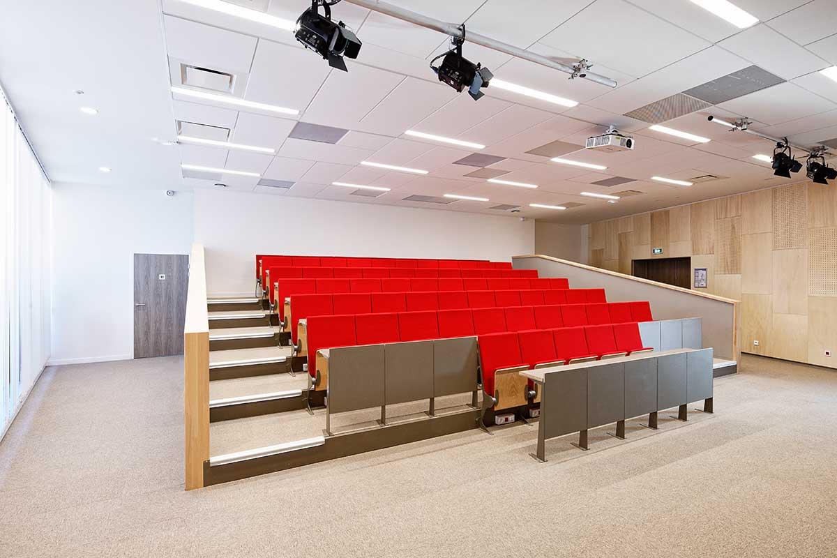 Créature Architectes - Construction - d'un immeuble tertiaire «Citévolia» - ZAC Intérives - Fleury-les-Aubrais - 45