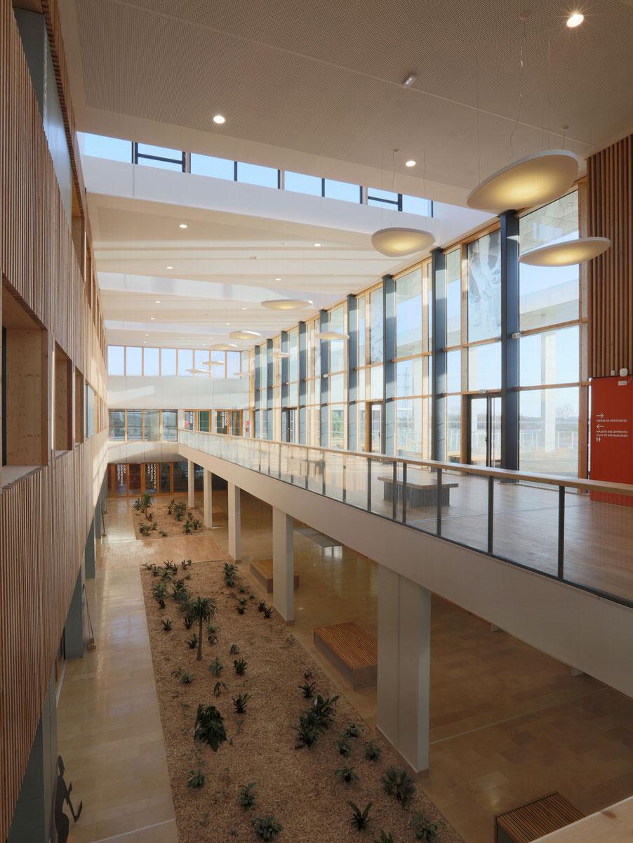Créature Architectes - Construction du CFA de la zone Atlantech de Lagord - La Rochelle - 17