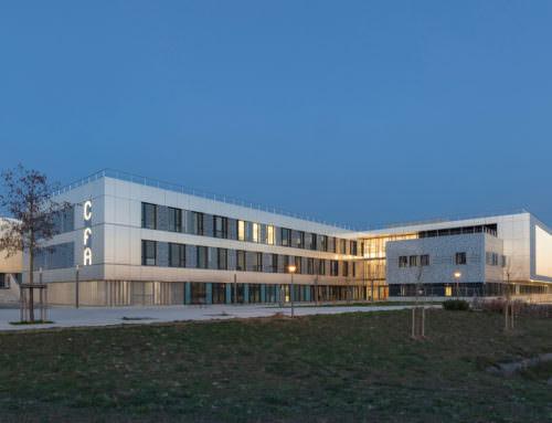 Construction du CFA de la zone Atlantech de Lagord La Rochelle (17)