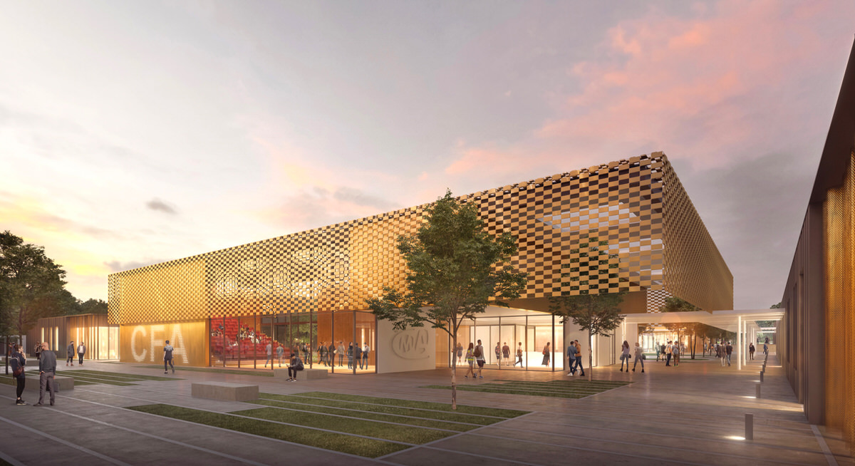 Créature Architectes - Construction du Centre de Formation Interprofessionnel de la Chambre de Métiers et de l'Artisanat du Loir-et-Cher - Blois - 41