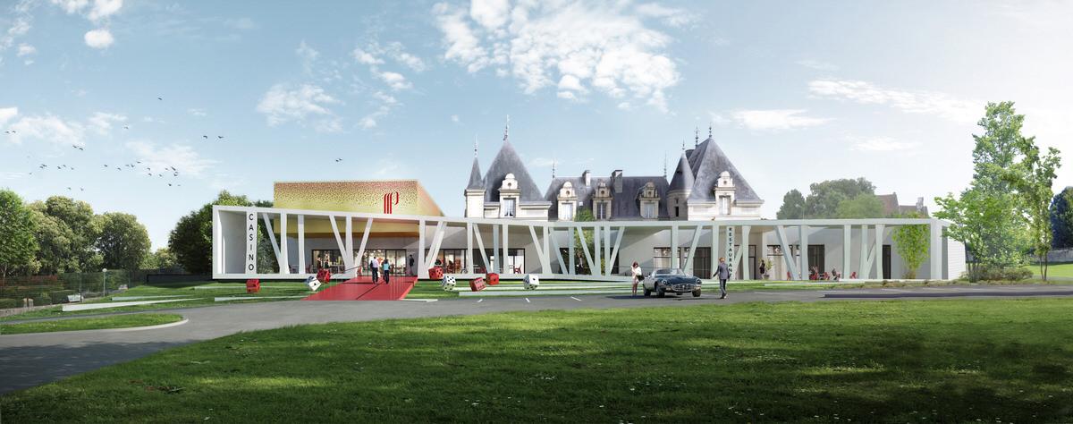 Créature Architectes - Restructuration et extension de la Salle de jeux et de spectacles du Casino - La Roche Posay - 86