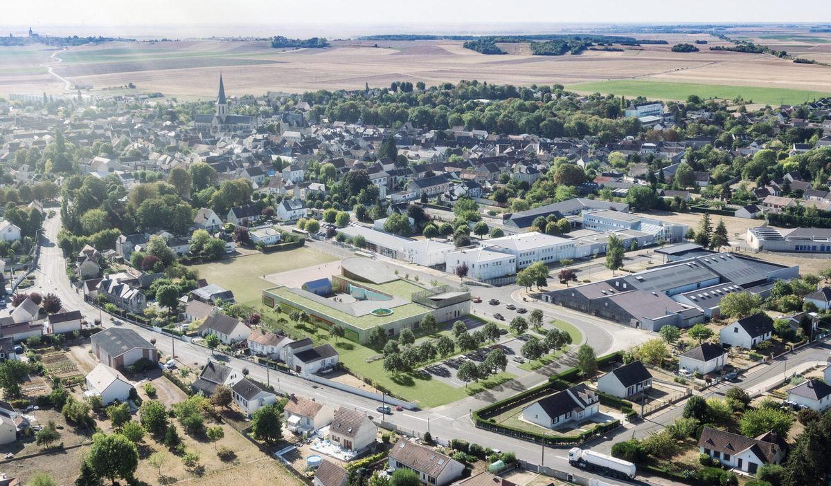 Créature Architectes - Construction d'une école élémentaire - Puiseaux - 45