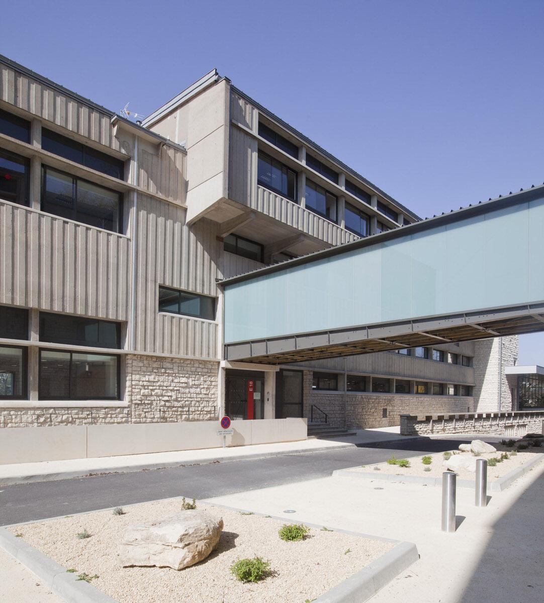 Créature Architectes - Extension et restructuration de l'UFR sciences humaines et arts - Poitiers - 86
